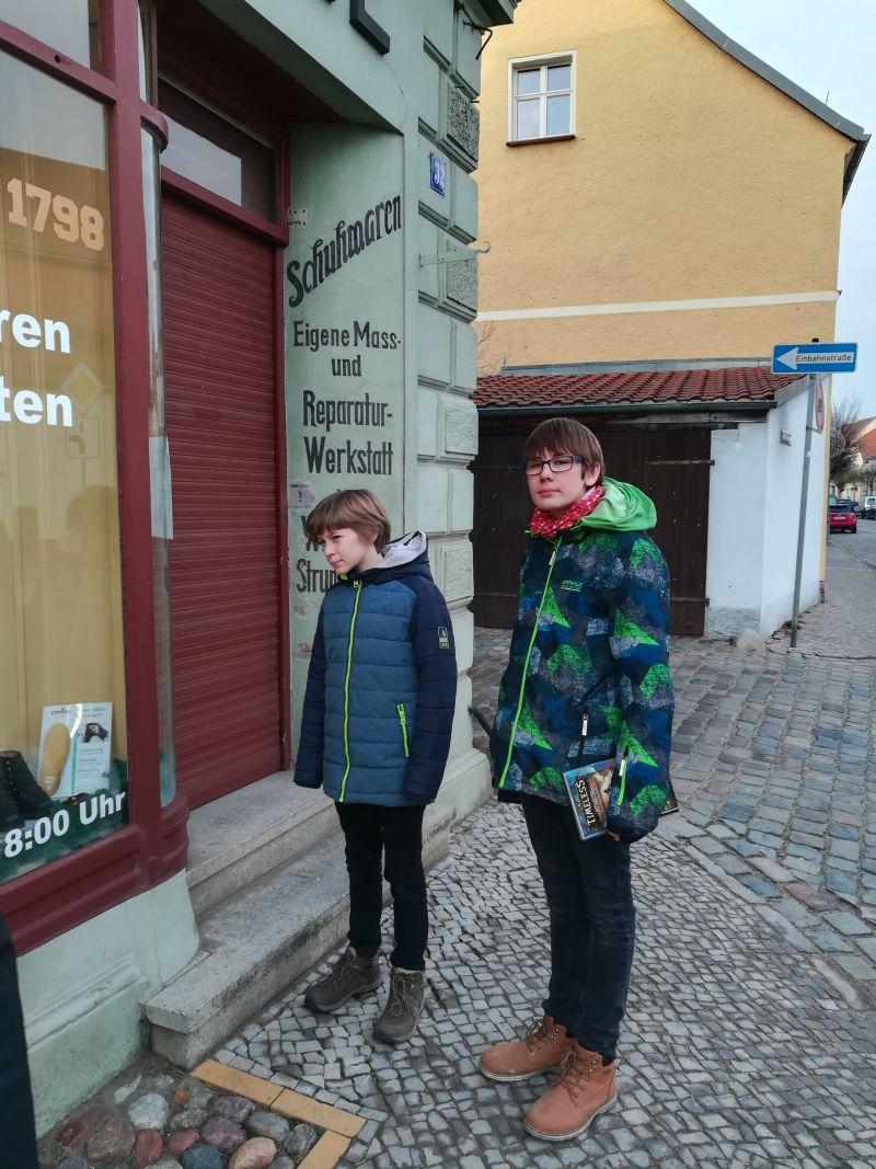 Schuster Beelitz mit Kindern