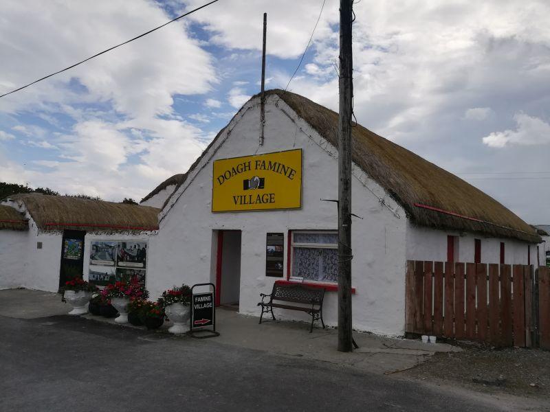 Doagh Famine Village, Ausflugsziel Donegal