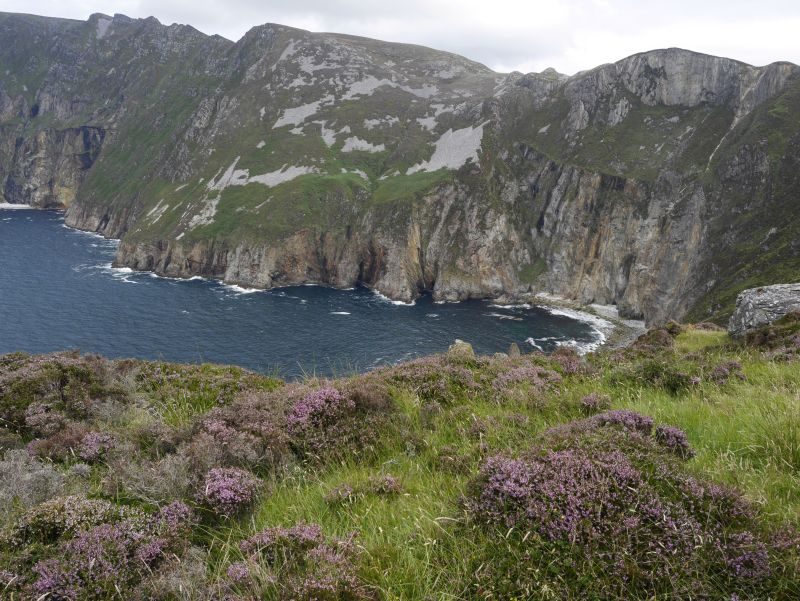 Slieve League am Bunglas Point, Donegal, Irland