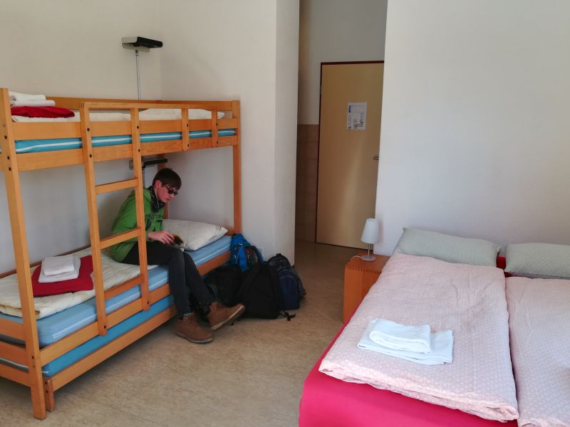 Jugendherberge Familienzimmer in Locarno