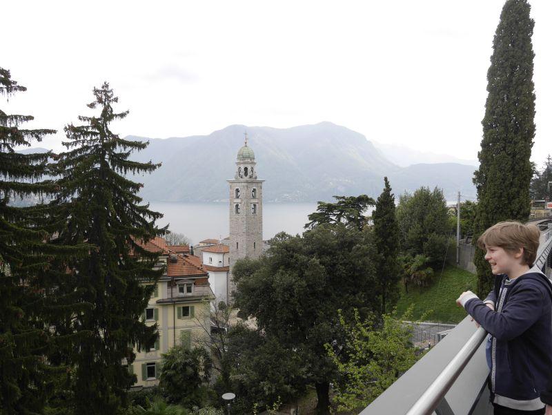 Tessin, Lugano mit Kind