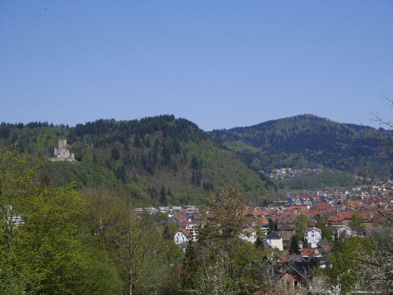 aussicht vom schwarzwaldzoo waldkirch, zweitälerland, urlaub in deutschland