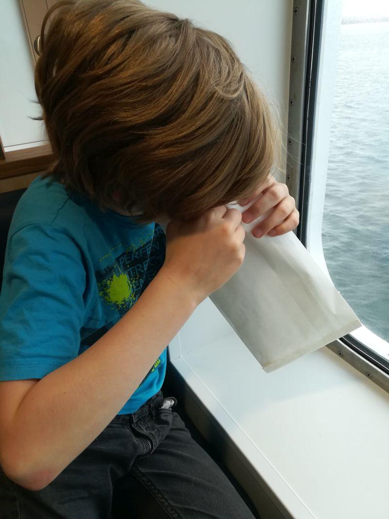 Tipps gegen Seekrankheit bei Kindern