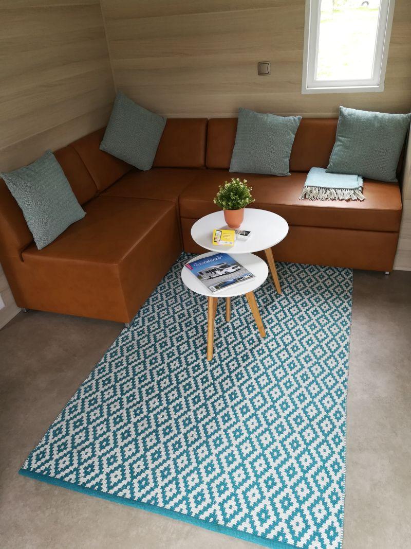 TCS Camping Lugano, Schweiz, Mobile Home innen