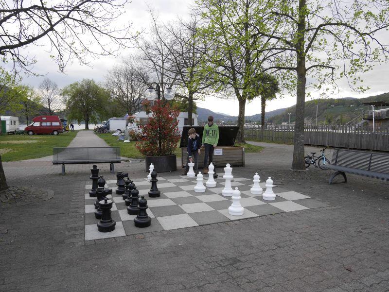 TCS Camping Lugano, Schweiz, Schach