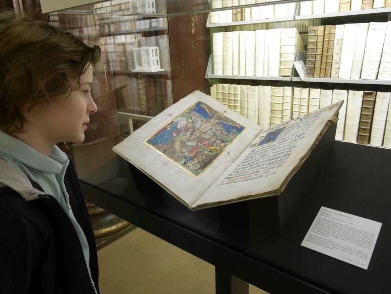 wolfenbüttel mit kindern, bibliothek bibel