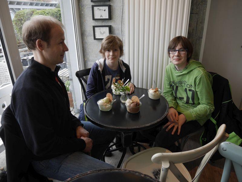 wolfenbüttel mit kindern, eismanufaktur familie