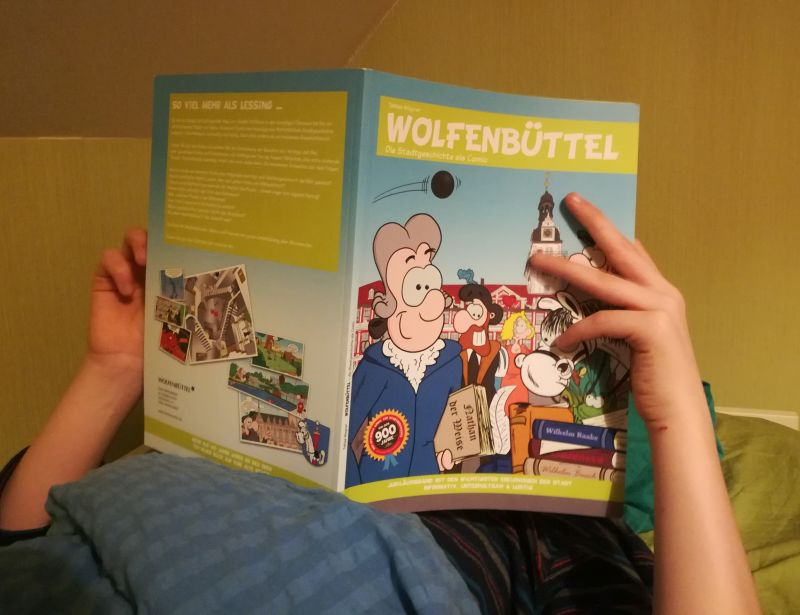 wolfenbüttel mit kindern comic