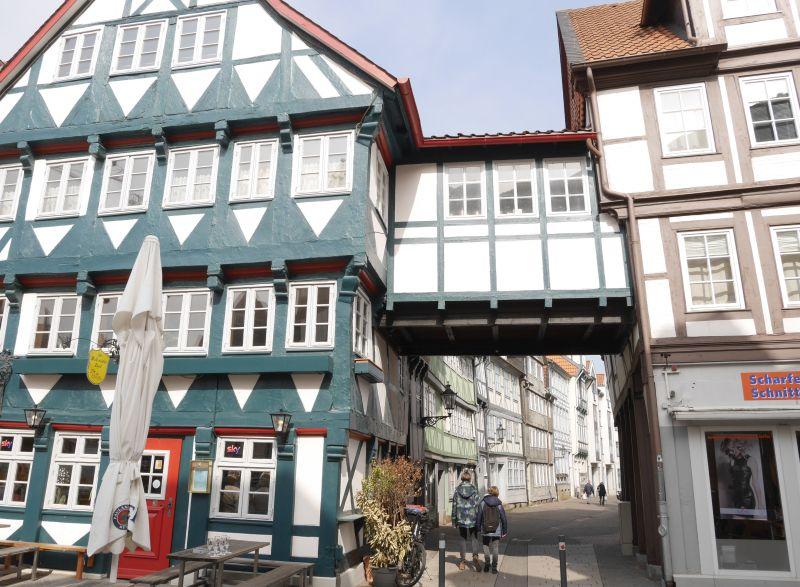 wolfenbüttel mit kindern, fachwerk