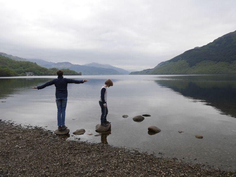 Loch Lomond mit Kindern