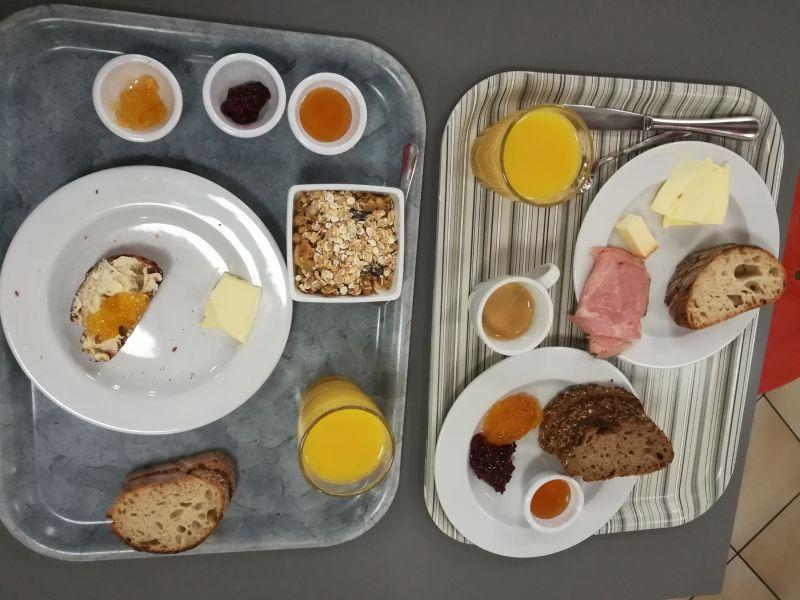 Frühstück Schweizer Jugendherberge