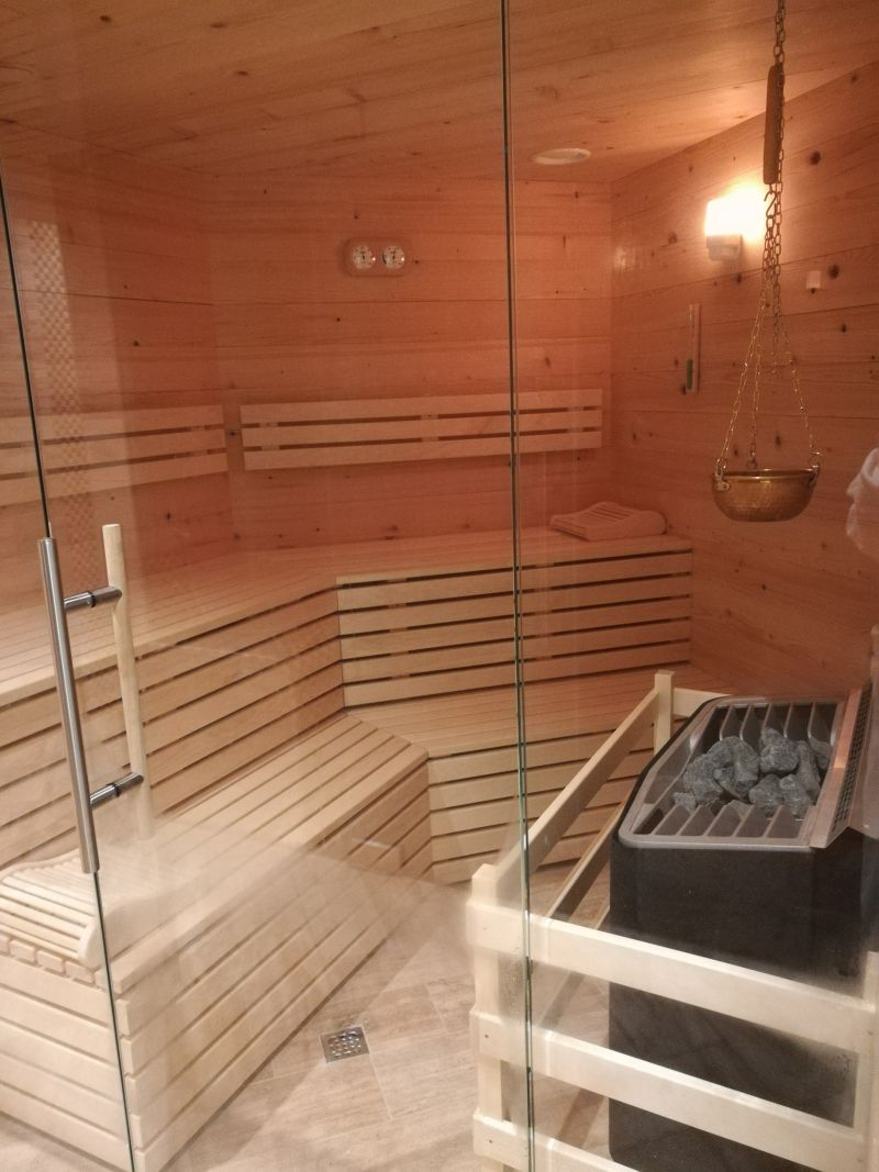 sauna im wellness hotel