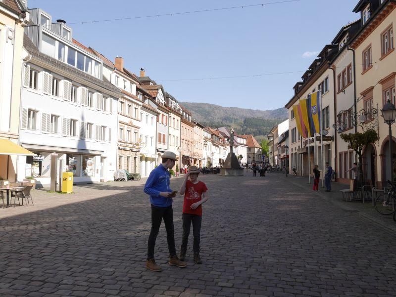 fußgängerzone Waldkirch