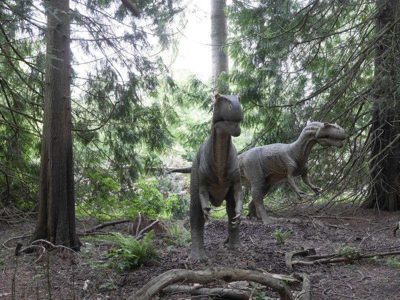 dänemark knuthenborg safaripark dinosaurier