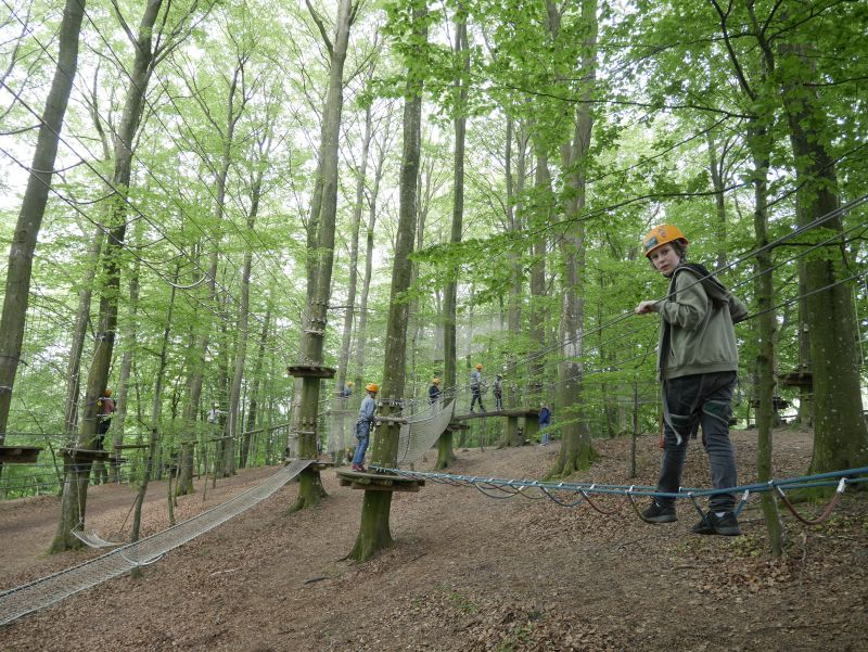 dänemark camp adventure kinderparcours