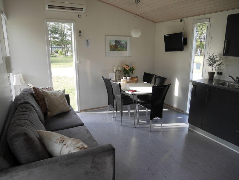 dänemark feddet camping tiny house innen