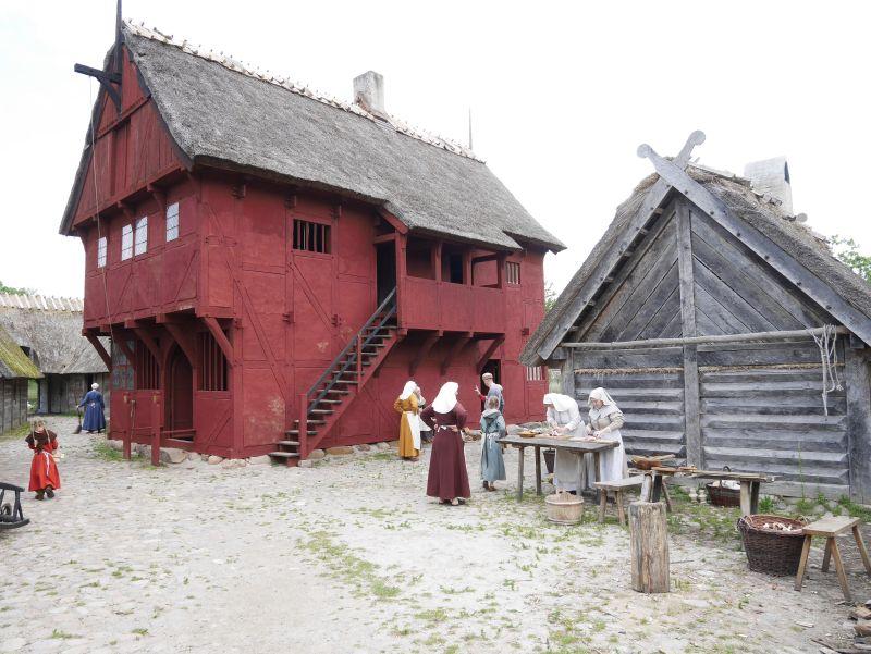dänemark mittelaltercenter bewohnt