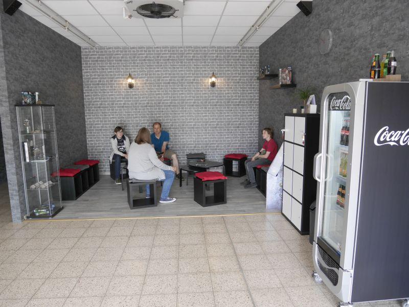 mysteria escape room obernkirchen Sitzecke