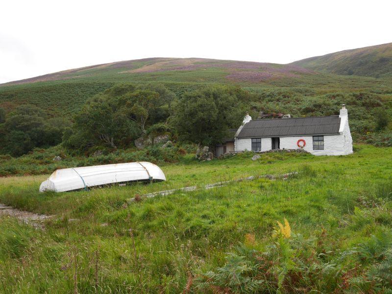 arran lochranza cottage schottland