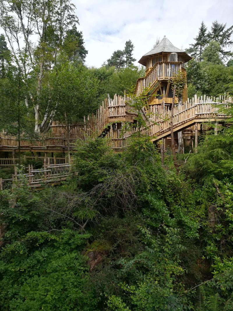 Brodick Castle Abenteuerspielplatz isle of arran mit kindern