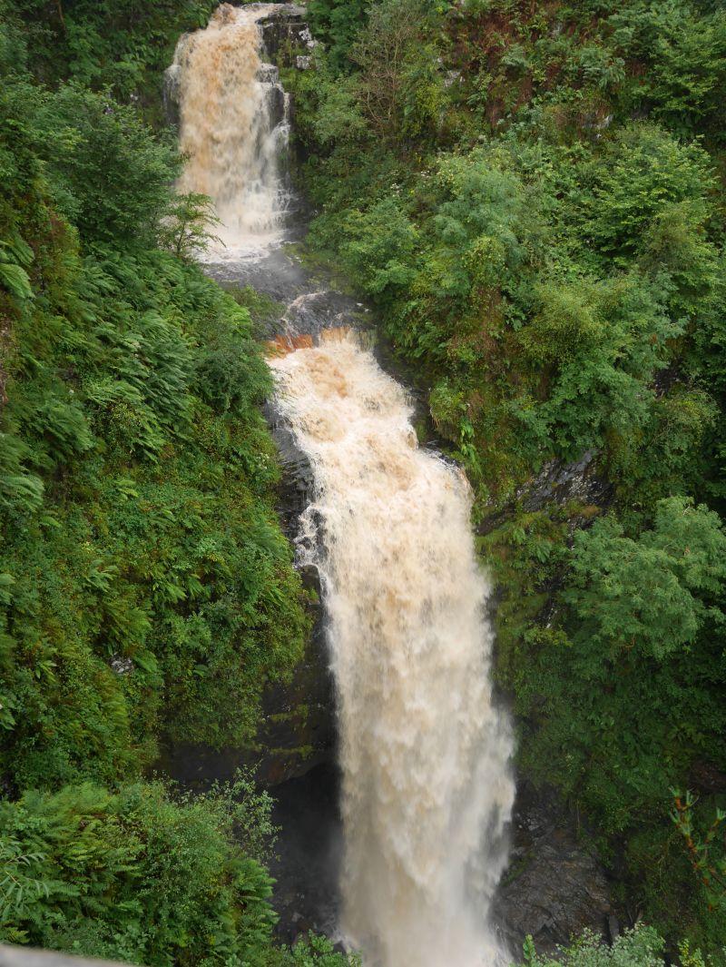 isle of arran glenashdale falls