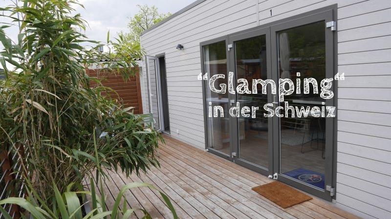 """""""Glamping"""" in der Schweiz: Mobile Homes auf den TCS-Campingplätzen"""