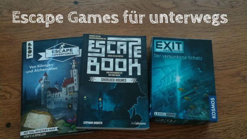 Escape Games: Spiele für unterwegs und die Ferien zu Hause