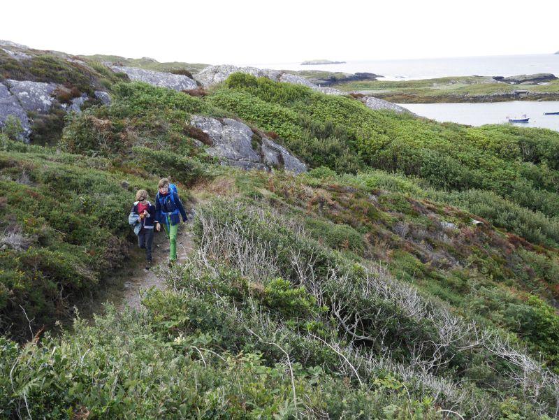 Caherdaniel, Ring of Kerry, Wandern mit Kindern in Irland, Ring of Kerry