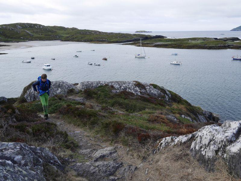 Ring of Kerry Derrynane wandern mit kindern
