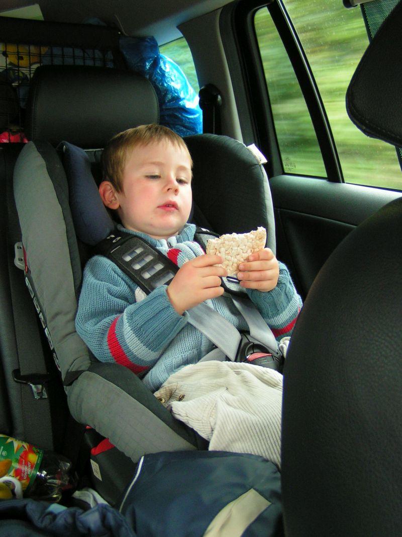 Autofahren mit Kleinkind