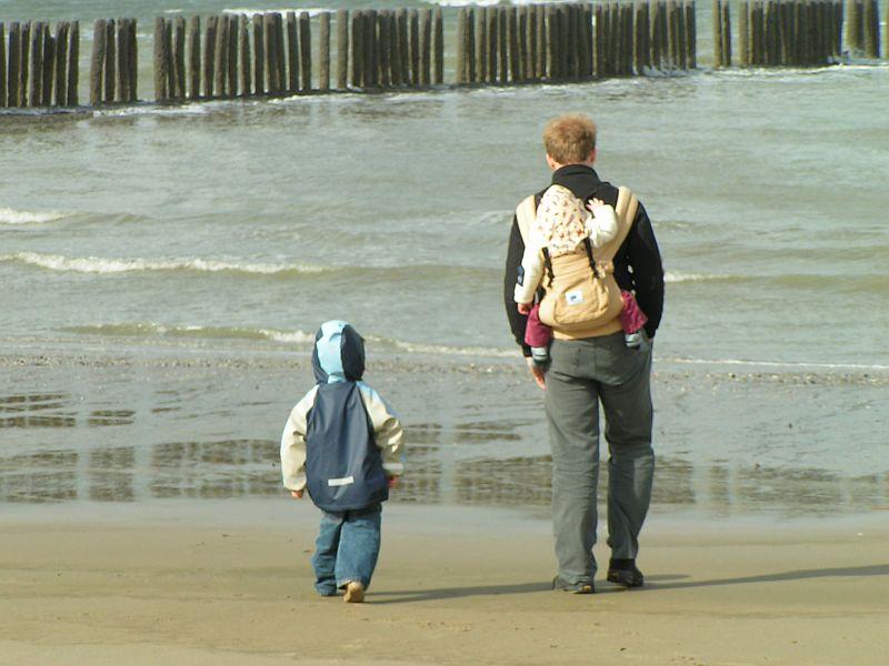 Breskens Strand, Urlaub mit Baby und Kleinkind