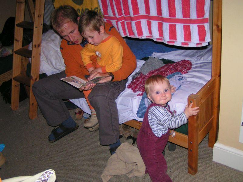 englische Jugendherberge, Familienzimmer