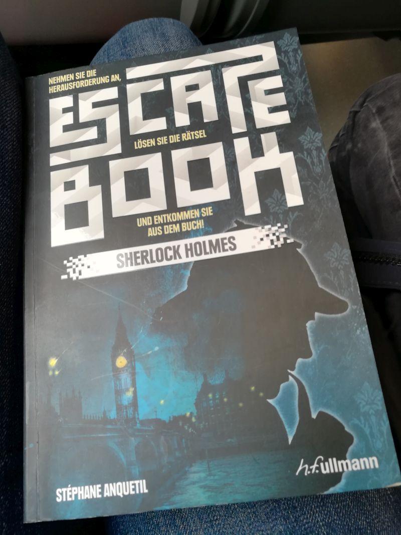 Escape Book Sherlock Holmes