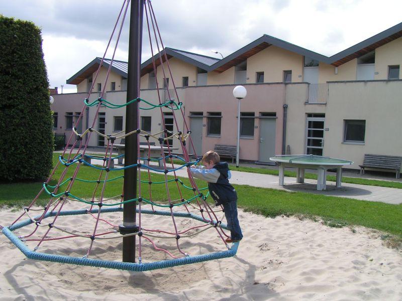 Jugendherberge Maldegem, Belgien, Spielplatz