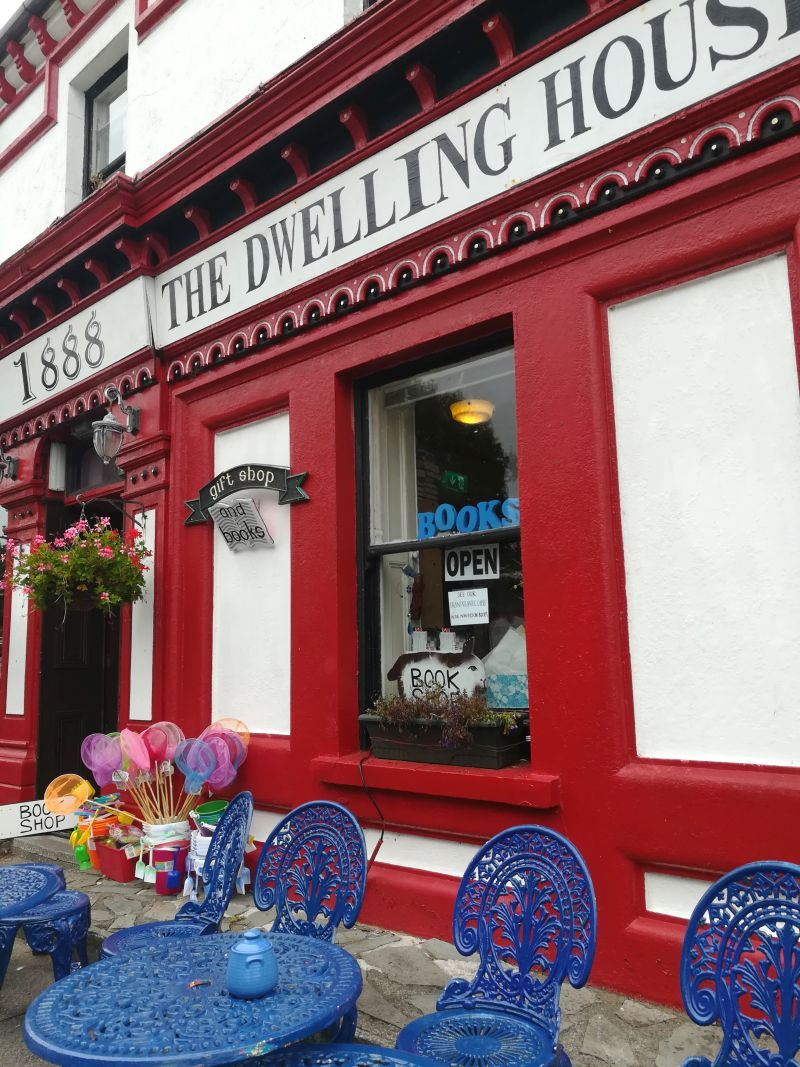 Knightstown Café Valentia Island Irland Ring of Kerry