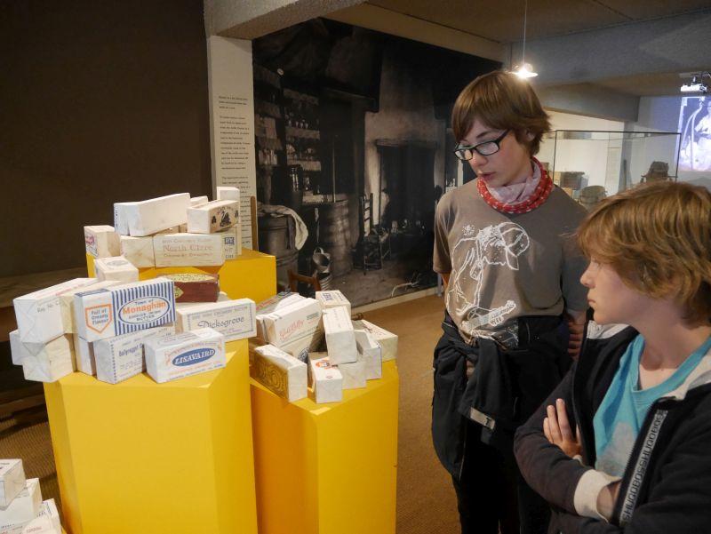 Cork mit Kindern im Buttermuseum Shandon
