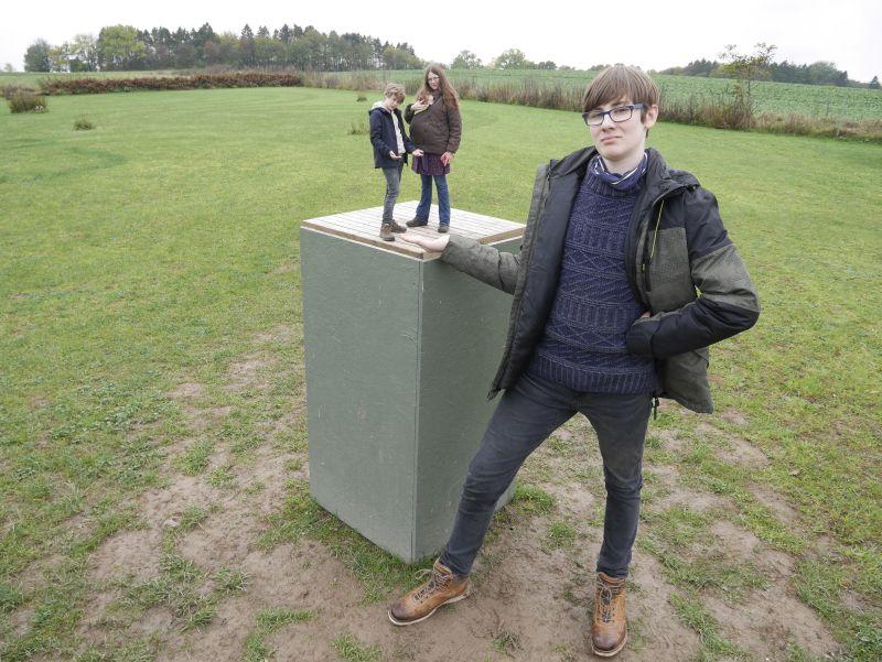 dänemark kalehave labyrinth park optische täuschung