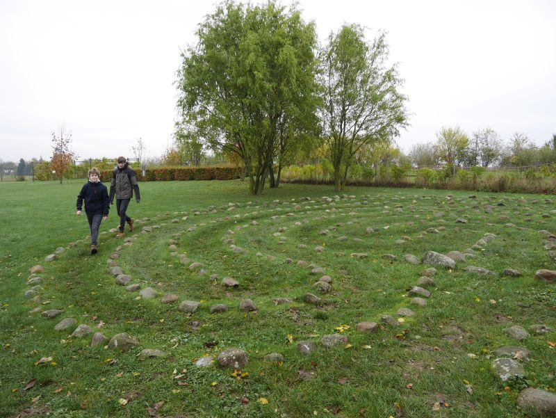 kalvehave labyrinth park dänemark mit Kindern