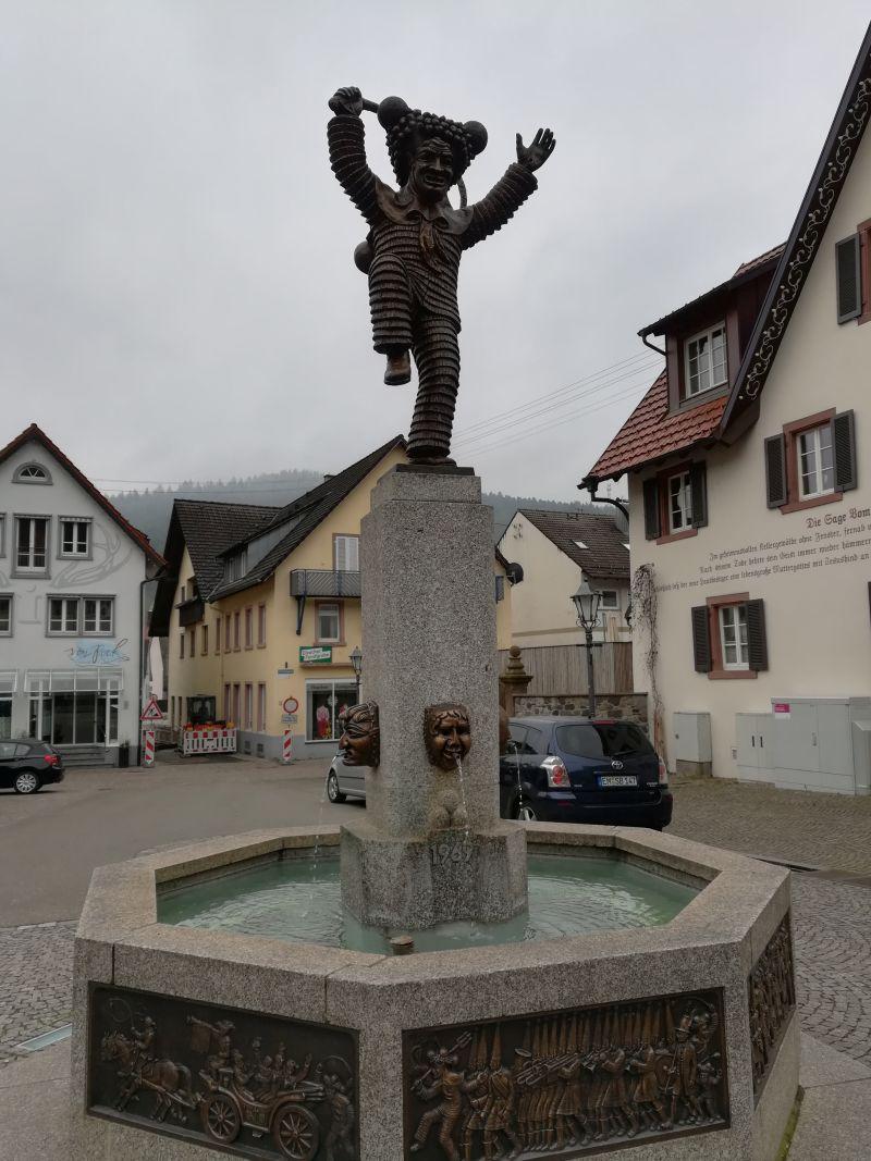 Elzach Fasnet Schuttigbrunnen