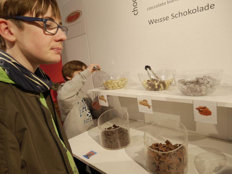 Schokoladenfabrik alprose, Caslano, Tessin, Verkostung