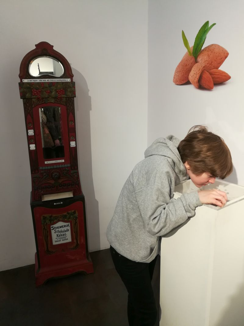 schokoladenmuseum caslano, tessin, duftstation