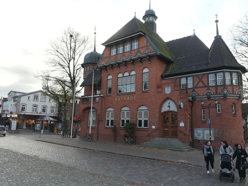 Rathaus, Burg auf Fehmarn
