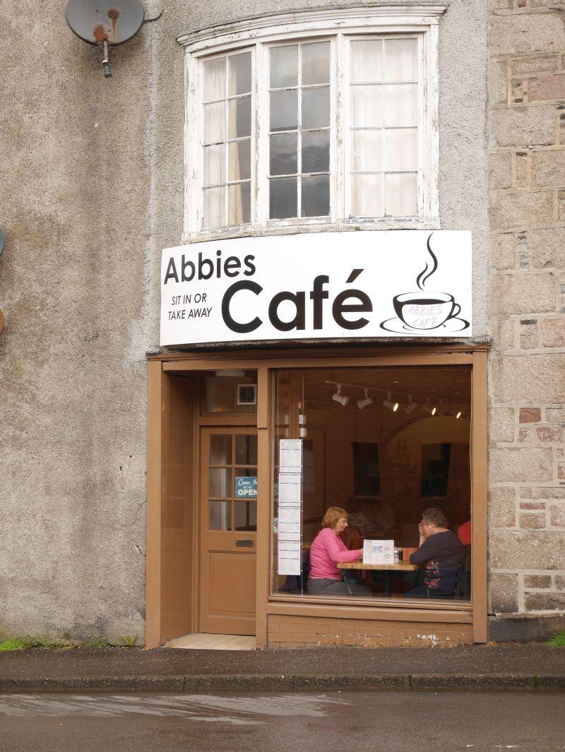 Abbies Cafe, Oban, Schottland