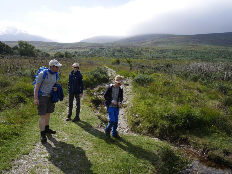 killarney nationalpark wanderung mangerton mountains devils punchbowl