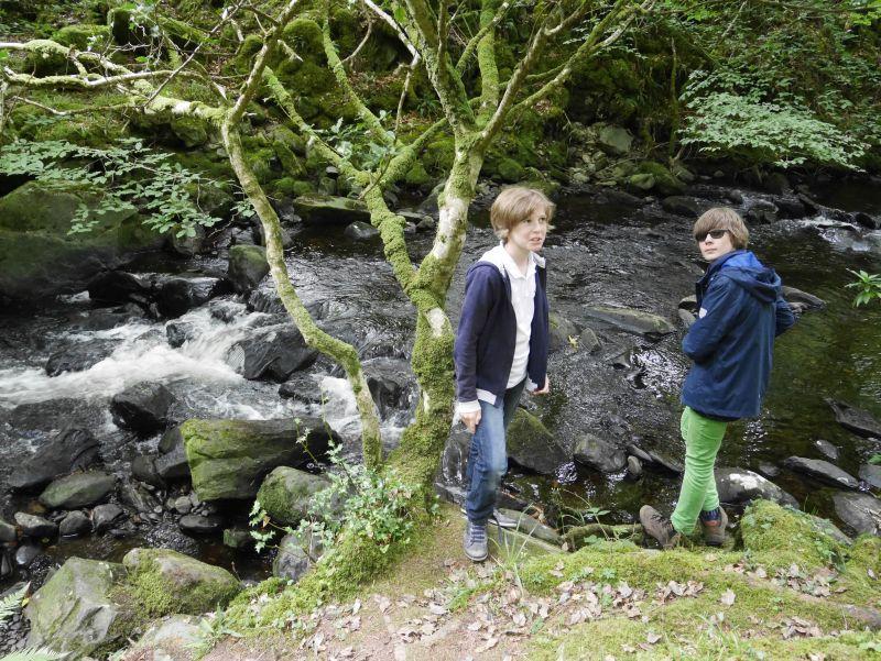 killarney nationalpark wanderung torc waterfall