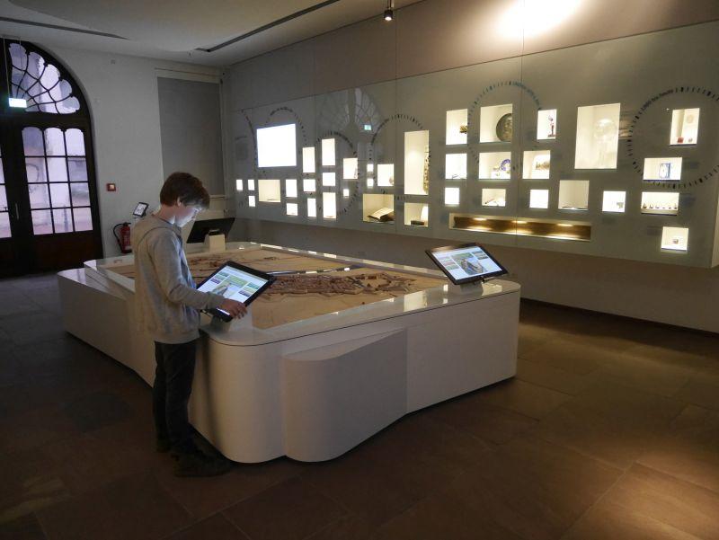 mindener museum, stadtmodell