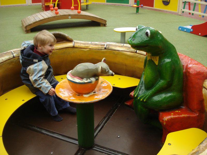minden potts park karussell