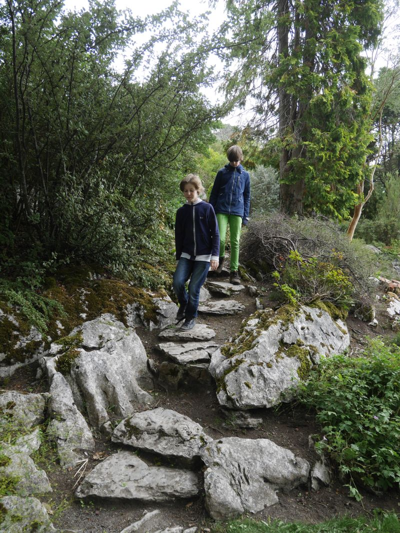 muckross garden killarney nationalpark mit kindern