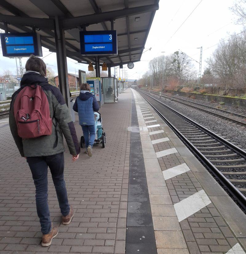 Bahnfahren mit Baby und Kindern, Niedersachsenticket