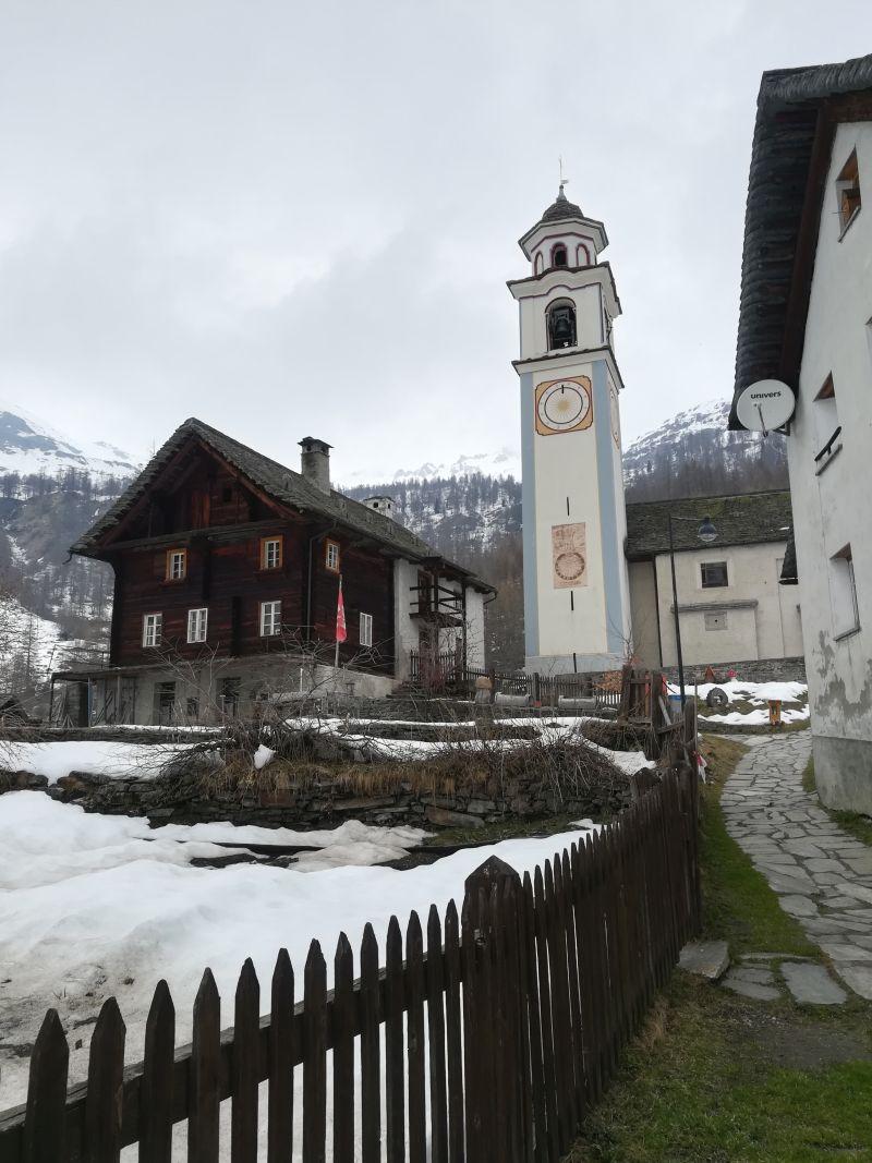 Kirchturm Bosco Gurin